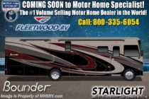 2020 Fleetwood Bounder 33C Class A RV W/Collision Avoidance, OH Loft, Loft