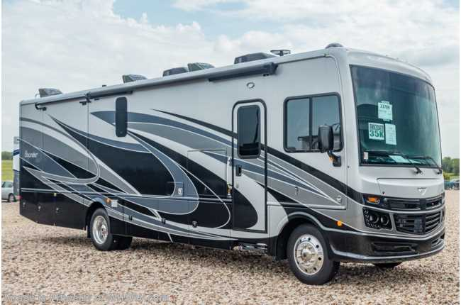 2020 Fleetwood Bounder 35K Bath & 1/2 Class A Gas RV W/ OH Loft & King