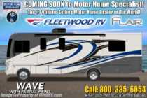 2020 Fleetwood Flair 32S 2 Full Bath W/ Theater Seats, 2 A/Cs, King Bed, 5.5KW Generator