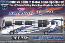 2020 Fleetwood Discovery LXE 44B Bath & 1/2 Bunk Model Diesel Pusher W/ Theater Seats, Tech Pkg