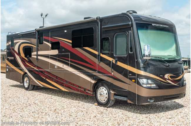 2017 Sportscoach Sportscoach 404RB Bath & 1/2 Diesel Pusher W/ King, 340HP Consignment RV