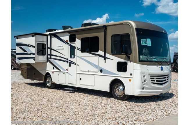2020 Holiday Rambler Admiral 32S 2 Full Bath Class A Gas RV W/ 2 A/Cs, 5.5KW Gen, King