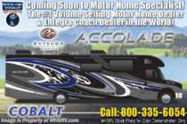 2020 Entegra Coach Accolade 37TS Diesel Super C RV W/ 360HP, W/D & Sat