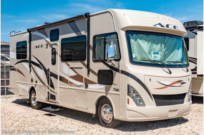 2017 Thor Motor Coach A.C.E. 29.2 Class A Gas RV for Sale W/ OH Loft, Jacks