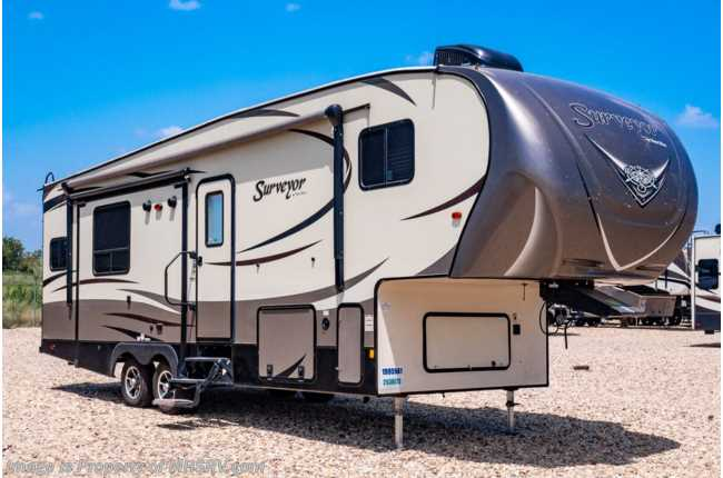 2016 Forest River Surveyor 293RLTS 5th Wheel RV for Sale at MHSRV W/ 2 A/Cs