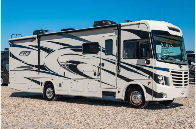 2020 Forest River FR3 30DS RV W/Theater Seats, Washer/Dryer & King