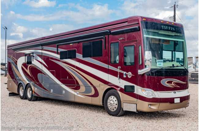 2018 Tiffin Allegro Bus 45 OPP Bath & 1/2 Diesel Pusher RV for Sale W/ 450HP, Theater Seats