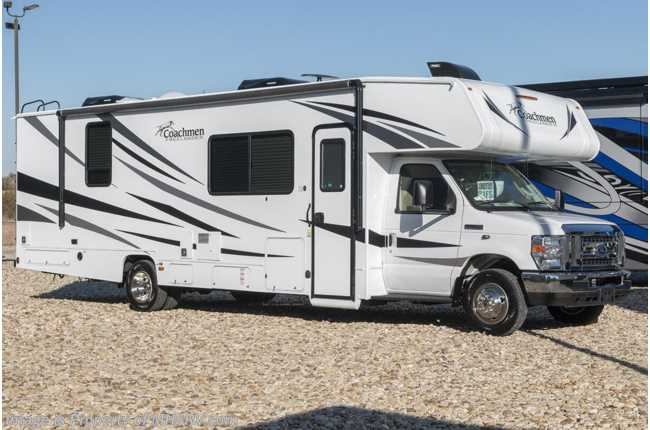 2020 Coachmen Freelander  31FS W/D Prep, Dual A/Cs, Ext TV, 3-Camera System & Jacks!