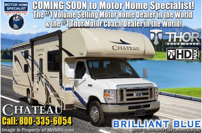 2020 Thor Motor Coach Chateau 31E Bunk Model RV Class C W/ 2 A/Cs, & Ext TV