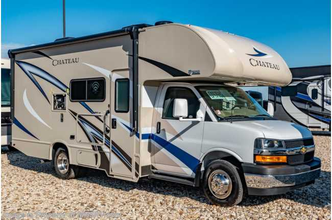 2020 Thor Motor Coach Chateau 22B Class C RV for Sale W/ 15K A/C & Ext TV