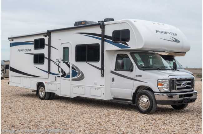 2021 Forest River Forester LE 3251DS Bunk Model Class C RV W/ 15K A/C, Auto Jacks & Arctic Pkg