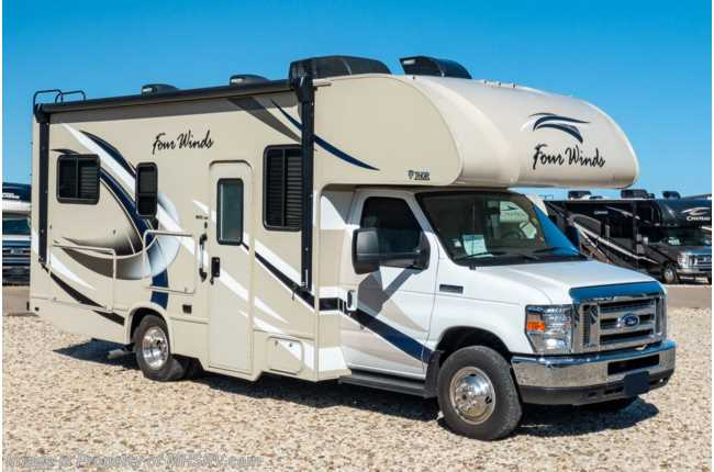 2018 Thor Motor Coach Four Winds 23U Class C for Sale W/ Ext TV Consignment RV
