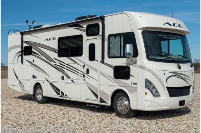 2018 Thor Motor Coach A.C.E. 29.4 Class A Gas RV for Sale at MHSRV W/ OH Loft & Ext TV