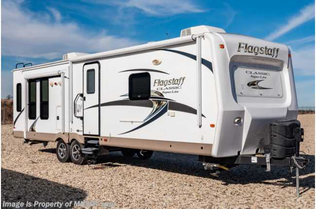 2015 Forest River Flagstaff Classic Super Lite 832IKBS Travel Trailer RV for Sale W/ 2 A/Cs
