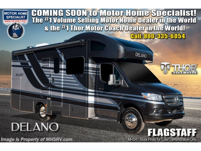 New 2021 Thor Motor Coach Delano 24TT available in Alvarado, Texas