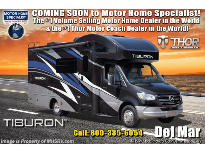 New 2021 Thor Motor Coach Tiburon 24TT available in Alvarado, Texas