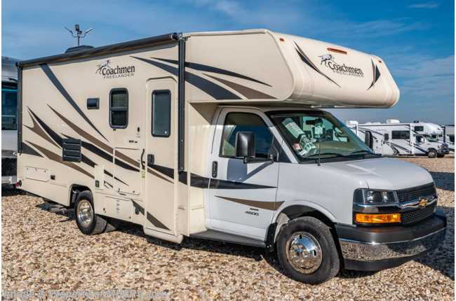 2020 Coachmen Freelander  21RS W/ 15K A/C, Stabilizers, Coach TV, WiFi