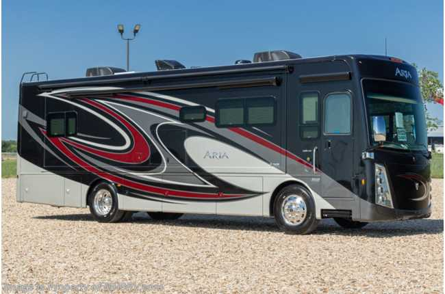 2021 Thor Motor Coach Aria 3401 Luxury Diesel RV for Sale W/ Theater Seats, 360HP, Studio Collection