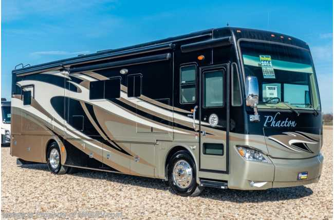 2014 Tiffin Phaeton 36 GH Diesel Pusher 360HP engine, 4 Slides