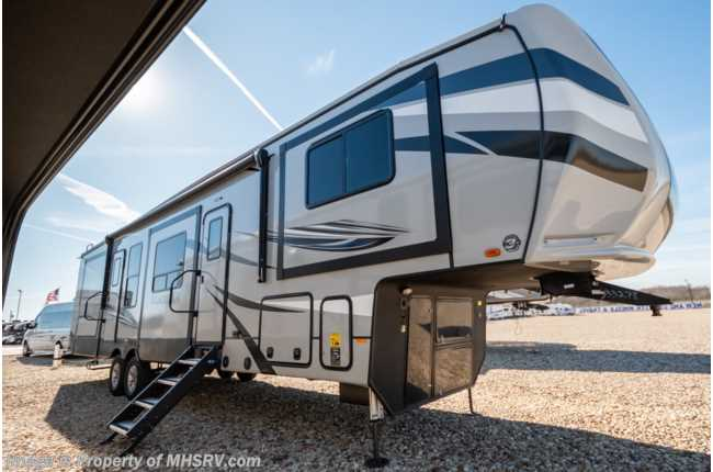 2020 Heartland RV ElkRidge ER 38 FLIK 5th Wheel RV for Sale W/ Theater Seats, 6 Point Leveling & King