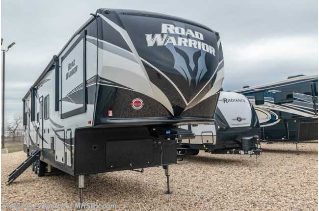 2020 Heartland RV Road Warrior 414RW Bath & 1/2 Toy Hauler 5th Wheel W/ 3 A/Cs, Ext TV, Res Fridge