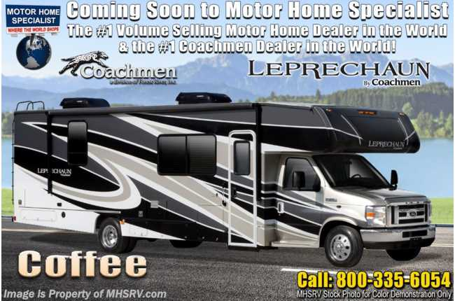 2021 Coachmen Leprechaun 260DS W/ Dual Recliners, Side by Side Fridge, Dual A/C, CRV Pkg