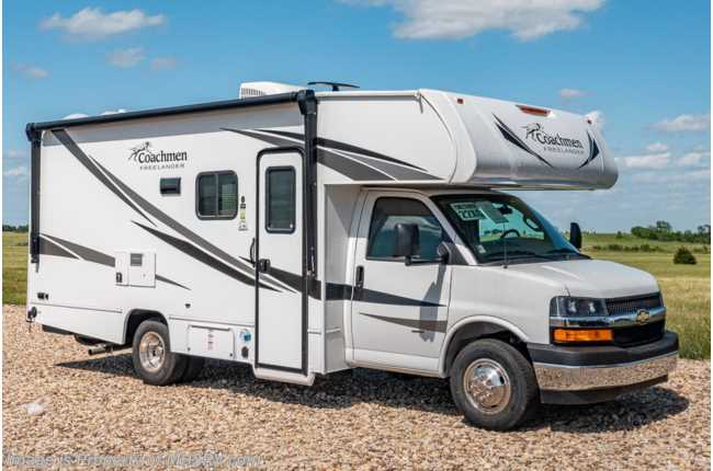 2021 Coachmen Freelander  22XG Bedroom/Garage Cargo System, Back-Up Cam & Touch Screen Radio
