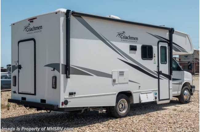 2021 Coachmen Freelander  22XG Bedroom/Garage System, Touch Screen Radio & Back-Up Camera