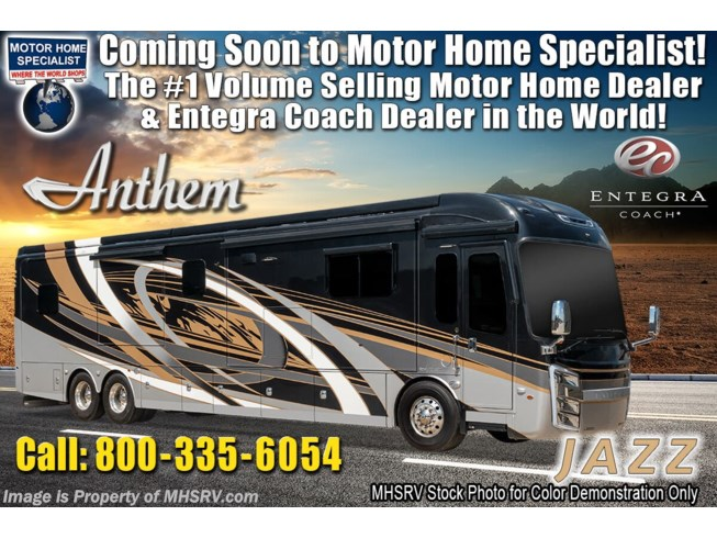New 2021 Entegra Coach Anthem 44W available in Alvarado, Texas