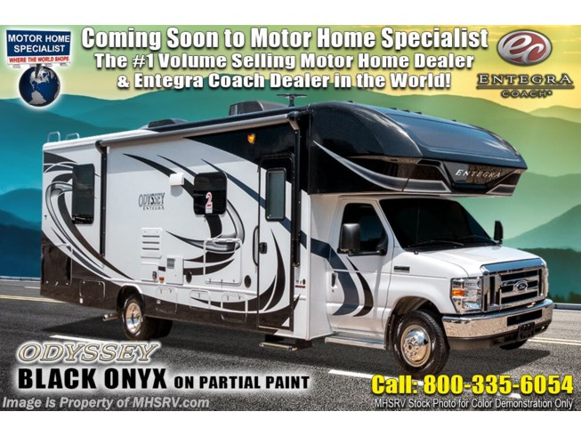 New 2021 Entegra Coach Odyssey 29K available in Alvarado, Texas