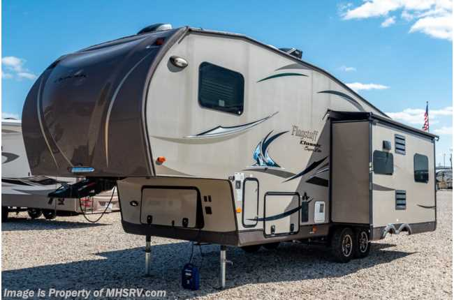 2013 Forest River Flagstaff 8528IKWS W/ King, Pwr Awning, Aluminum Rims