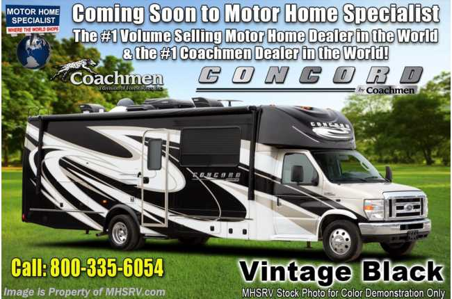 2021 Coachmen Concord 300DS W/ Fireplace, Rims, Jacks & WiFi