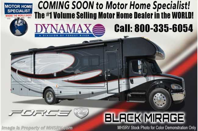 2021 Dynamax Corp Force HD 34KD Super C W/ Chrome Pkg, Mobileye, GPS & Solar