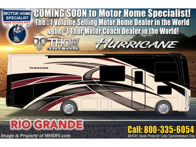 New 2021 Thor Motor Coach Hurricane 32T available in Alvarado, Texas