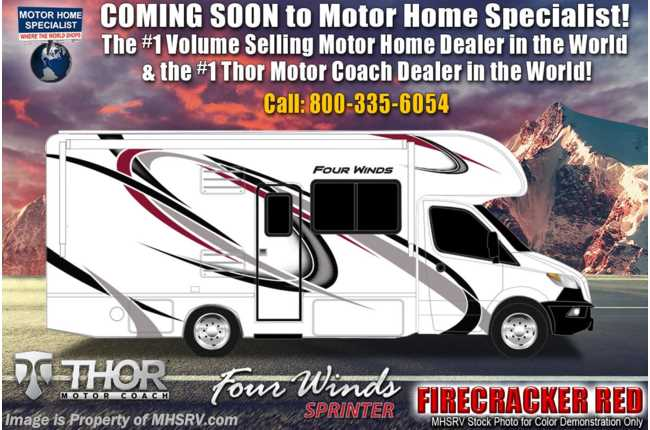 2021 Thor Motor Coach Four Winds Sprinter C 24BL Sprinter W/Turbo Diesel & Home Collection