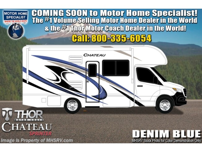 New 2021 Thor Motor Coach Chateau Sprinter 24DS available in Alvarado, Texas