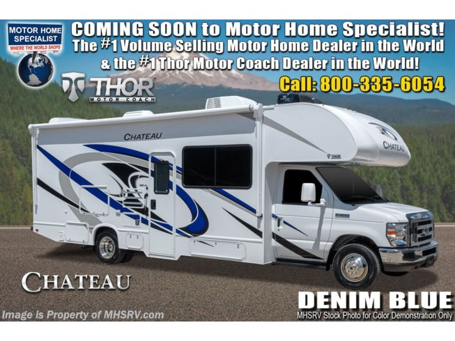 New 2021 Thor Motor Coach Chateau 27R available in Alvarado, Texas