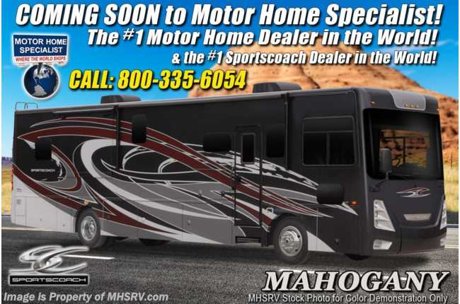 2021 Coachmen Sportscoach SRS 366BH Bunk Model RV W/Solar, Theater Seating, W/D, King, & 340HP