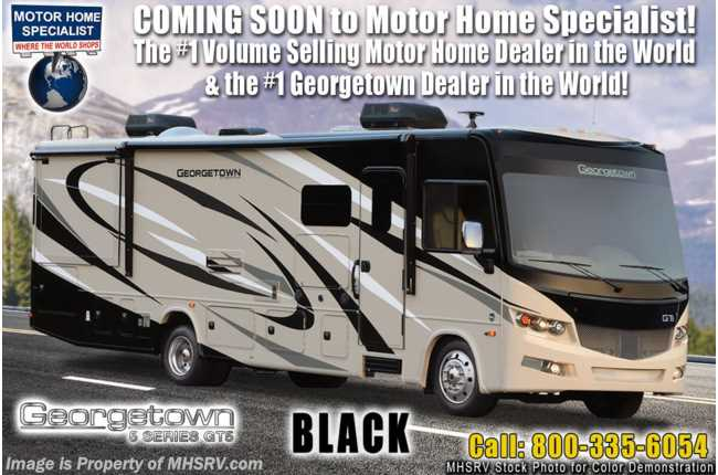 2021 Forest River Georgetown GT5 34H5 Bath & 1/2 W/ King, Theater Seats, OH Loft