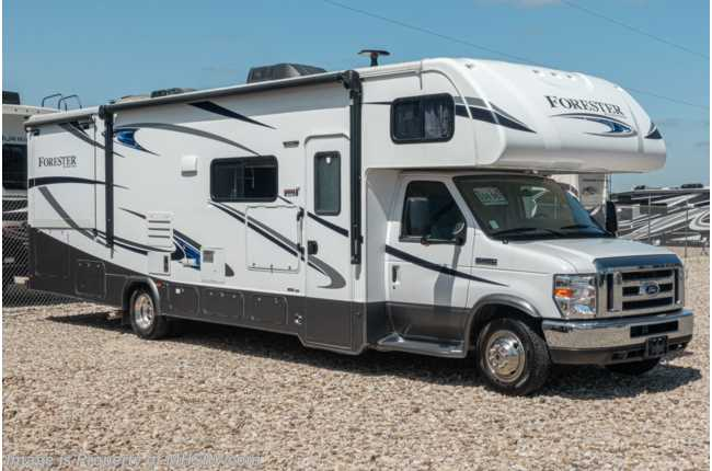 2018 Forest River Forester 3011DS W/ Power Awning, Ext TV, Fiberglass Roof