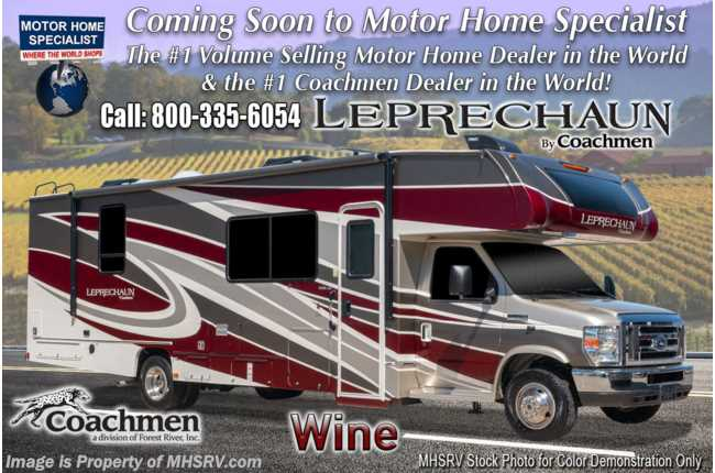 2021 Coachmen Leprechaun 260DSC W/ CRV Comfort Pkg, Dual Recliners, FBP, Side by Side Fridge, Dual A/C & Jacks