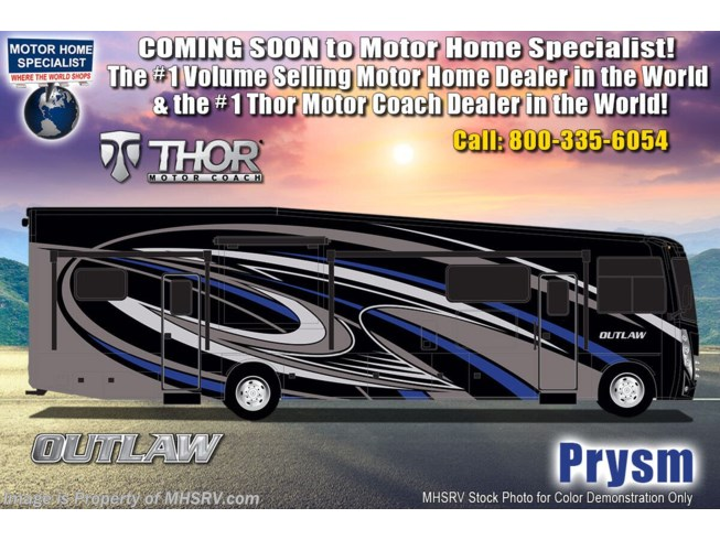 New 2021 Thor Motor Coach Outlaw 38MB available in Alvarado, Texas