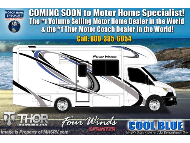 New 2021 Thor Motor Coach Four Winds Sprinter 24DS available in Alvarado, Texas