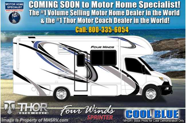 2021 Thor Motor Coach Four Winds Sprinter C 24DS Sprinter W/ Theater Seats, Turbo Diesel, Tank Heaters