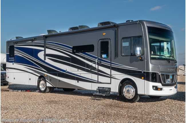 2021 Holiday Rambler Vacationer 36F 2 Full Bath Bunk Model W/ Theater Seats & Collision Mitigation