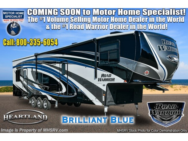 New 2021 Heartland Road Warrior 430RW available in Alvarado, Texas