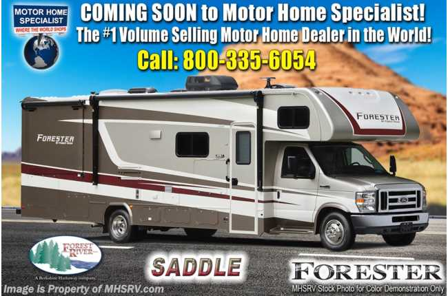 2021 Forest River Forester 3011DS W/ Theater Seats, 2 A/Cs, Solar, Ext TV, Auto Jacks & FBP