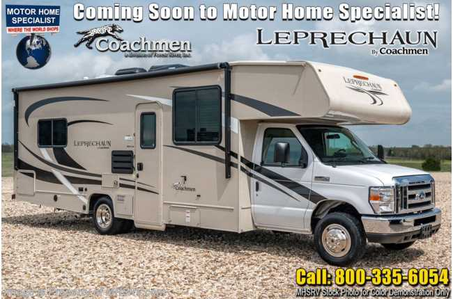 2021 Coachmen Leprechaun 270QB Class C RV W/ Back Up Monitor & 15K A/C
