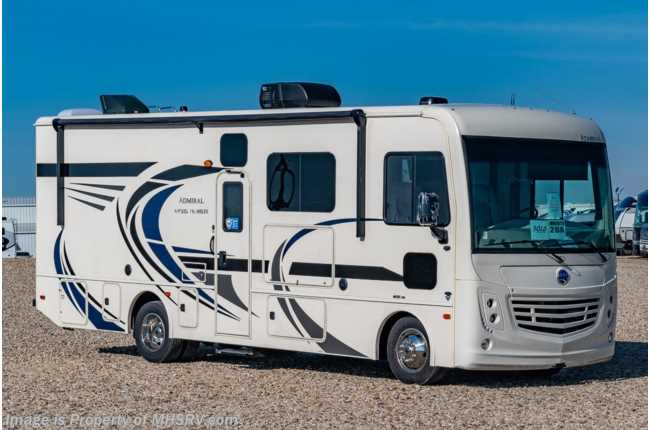 2021 Holiday Rambler Admiral 28A Class A Gas RV W/ Theater Seats, King Bed & Ext. TV