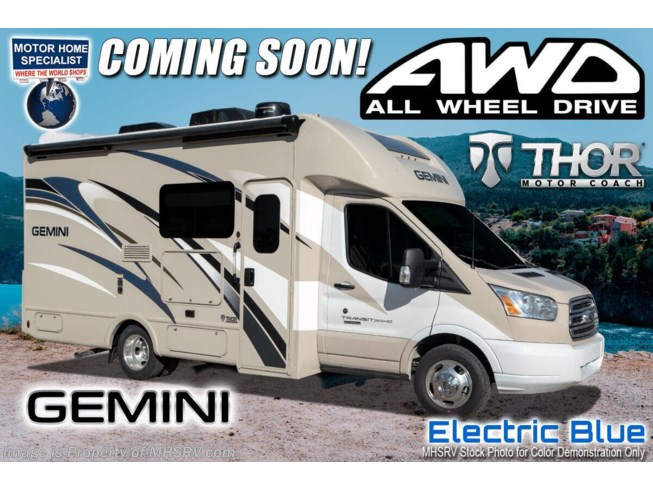New 2021 Thor Motor Coach Gemini 23TW available in Alvarado, Texas